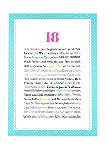 18 Geburtstag Geschenkidee Zur Volljährigkeit